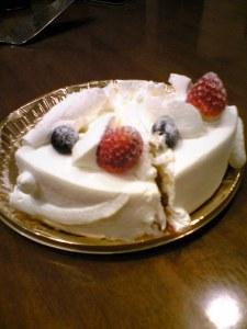 アビニオンのケーキ