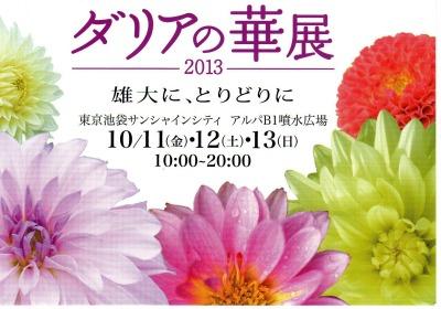 ダリアの華展2013101201